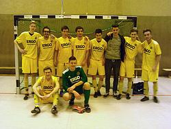 von rechts oben: Fabian, Sergio, Jonathan, Marc, Andy, Patrick, Marcin, Andrè, Marc, Percy