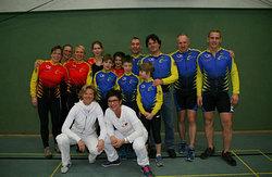 Waren für den VfR in Köln im Einsatz, Athleten, Schiedsrichter, Trainer und Zuschauer :-)