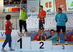 Christian Pohler stand bei den nationalen Special Olympics 2014 ganz oben auf dem Treppchen. 2015 greift er bei den Weltspielen der Special Olympics in Los Angeles an.