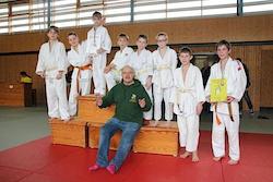 Sieger beim Rabauken-Turnier der U12 und der Kreiseinzelmeisterschaften U15EM