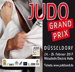 25.02.17: Die Judoabteilung des VfR Büttgens beim Judo Grand Prix in Düsseldorf