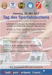 Sportabzeichen 2017 - sei dabei!