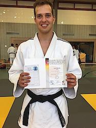 08.07.17: Für Lars Bandaus weitere Judokarriere sehen wir schwarz :-)