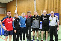 Bergneustadt-Büttgen: v.l. Hans-Jürgen Hecht, Gerd Groll, Volker Herbst, Jochen Nieswand, Albert Paeßens, Manfred Nieswand, Hermann-Josef Tombrink