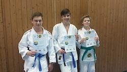 Judo-Pentathlon montags in der 19h-Gruppe
