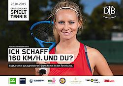 Aktion: Deutschland spielt Tennis