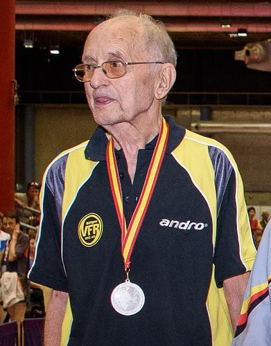 Gerhard Apitzsch 2016 mit WM-Silber in Alicante