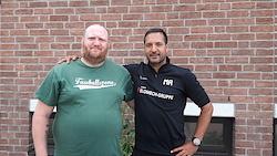 Marcel Schwarzer (links), Moulay Driss Rhoulimi