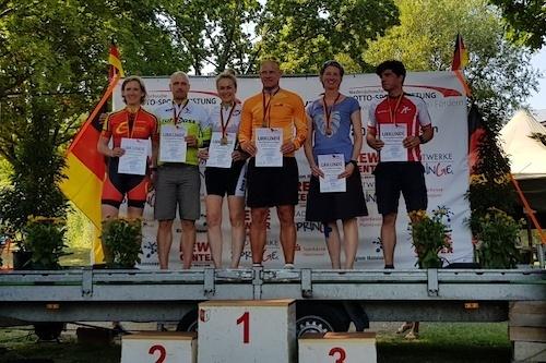 Silber bei der Marathon-DM in Bennigsen