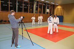 BNTM - Fotoshooting auf der Judomatte