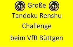 Stellt Euch der großen Tandoku Renshu Challenge im April