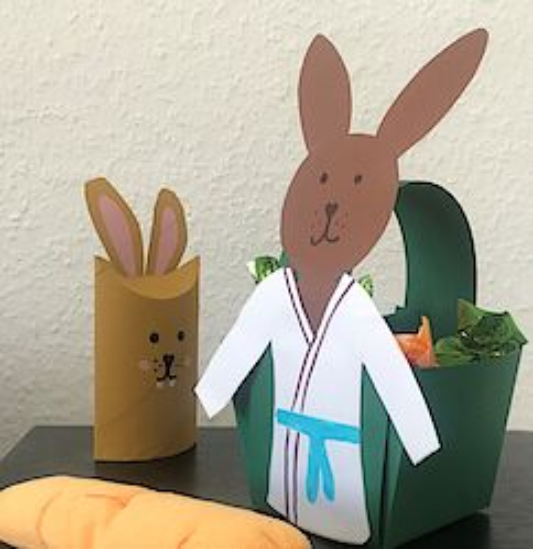Frohe Ostern und viel Spaß mit dem Judo-Osterkörbchen