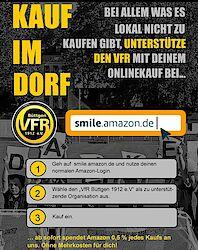 Wenn schon Online-Einkauf, dann smile.amazon.de und VfR Büttgen wählen!