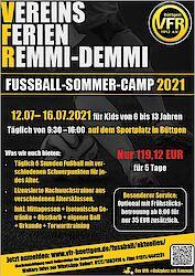 VereinsFerienRemmidemmi! Unser Fussball-Sommercamp 2021