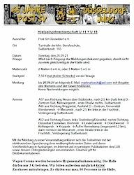 26.09.21: Kreis Einzel Meisterschaften KEM U11 und U15 in Düsseldorf