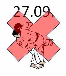 leider kein Judotraining am Montag, 27.09.21