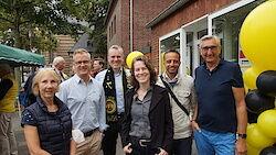 Brigitte Reuß-Tannigel (stv. Schatzmeisterin, Philip Metz (Schatzmeister), Rainer Derichs (Präsident), Nina Lennhof (stv. Bürgermeisterin), Dario Marotta (Geschäftsführer) Lutz Gerber-Orlean (Vizepräsident)
