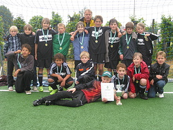 E-Junioren wurden Kreispokalsieger 2009