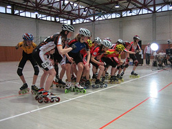Hallenlandesmeisterschaft 2010 - Start Frauen