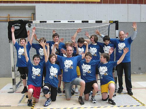 Männliche D1 ist Meister der Saison 2009/2010