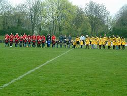 Meisterschaftsspiel Büttgen - Vorst am 3.4.2011