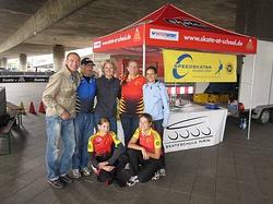 Olympic Adventure Camp in Düsseldorf - Stand und unser Team