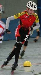 Speedskater Düsseldorf im VfR Büttgen - Angela