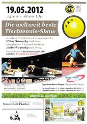 Tischtennis Weltklasse in Büttgen